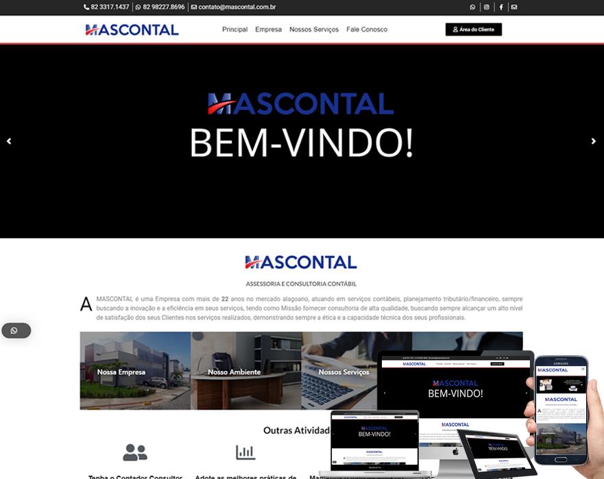 SITE DA EMPRESA DE CONTABILIDADE MASCONTAL
