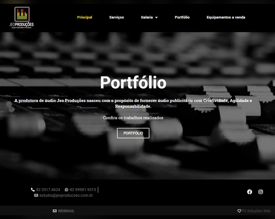 Jeo Produções - Áudio Publicitário e Música | www.jeoproducoes.com.br/